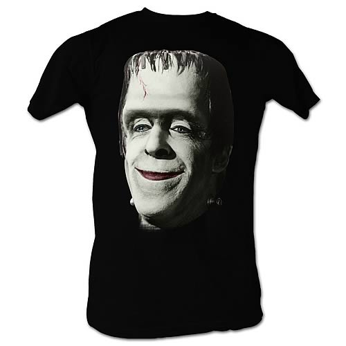 Munsters Frankinsmile Black T-Shirt