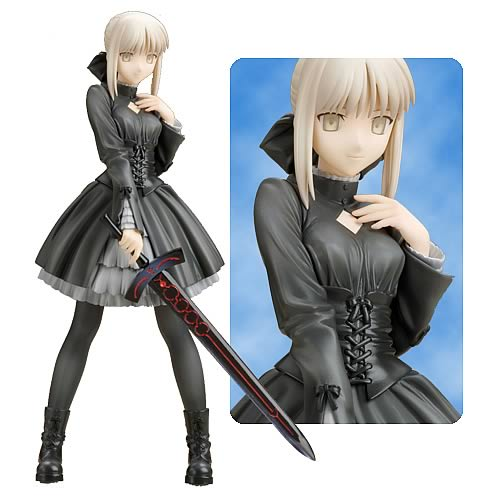 Fate/Hollow Ataraxia Saber Black Dress Statue