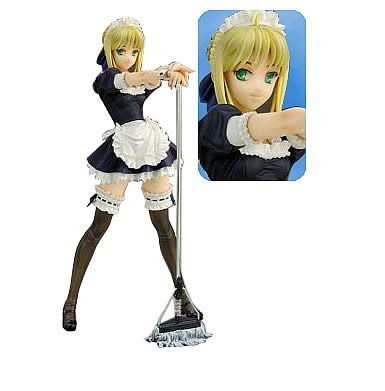 Fate/Hollow Ataraxia: Saber Maid Version Statue
