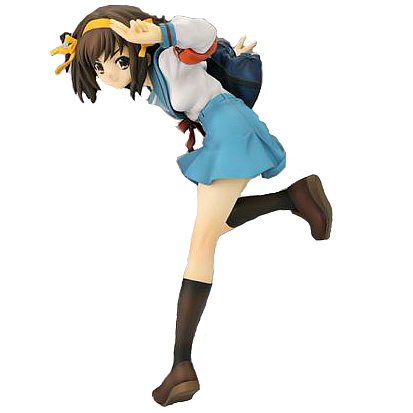 Melancholy of Haruhi Suzumiya School Uniform Statue