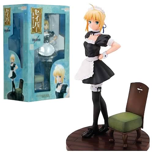 Fate/Hollow Ataraxia Saber Maid Hallucination Statue