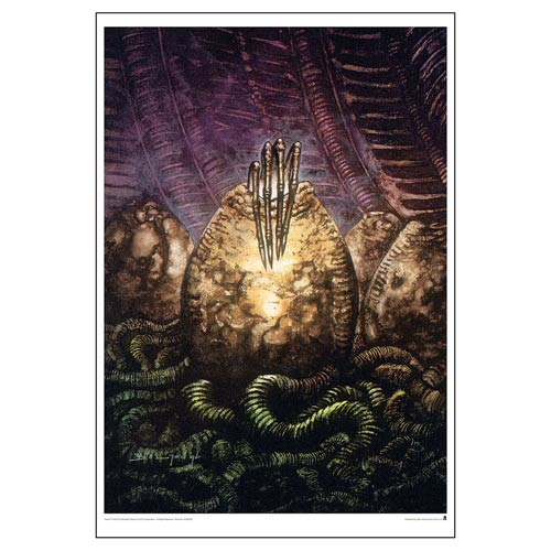Aliens Theory of Propagation Paper Giclee Art Print