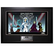 Star Wars Women of the Clone Wars Unframed Giclee Print