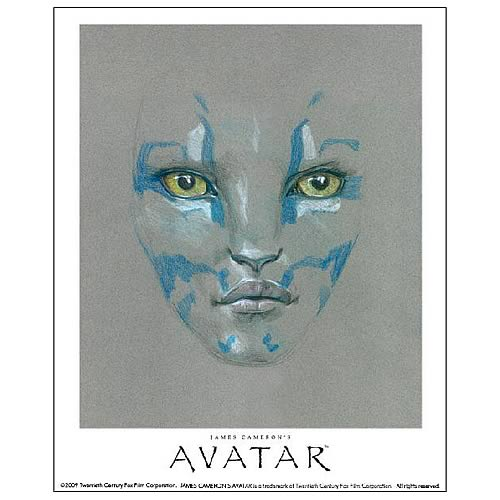 Avatar Neytiri Limited Edition Signed Paper Giclee Print