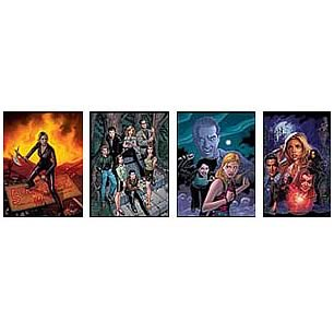 Buffy the Vampire Slayer Comic Covers Fine Art Print Set