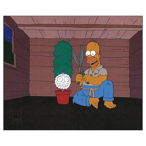 Simpsons Secrets Of A Successful Marriage Animation Cel