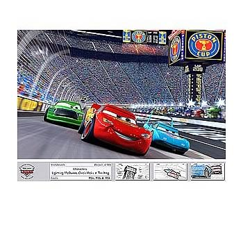 Disney Cars Leader of the Pack LE Unframed Giclee