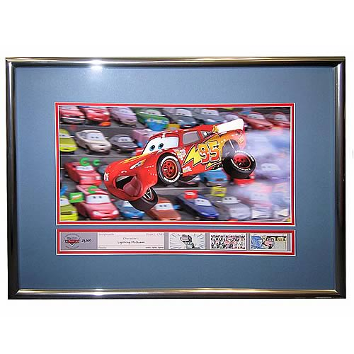 Disney Cars Air McQueen LE Framed Giclee