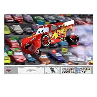 Disney Cars Air McQueen LE Unframed Giclee