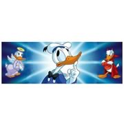 Disney Donald Duck Angel and Devil Triptych Sericel