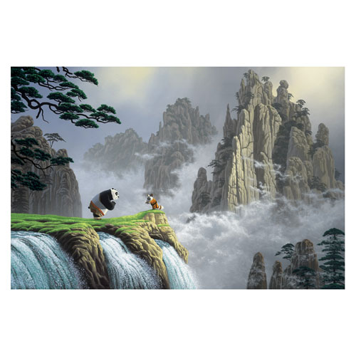 Kung-Fu Panda Respect For All Things Small Canvas Giclee