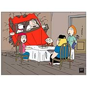 Family Guy Car Crash Paper Giclee Print