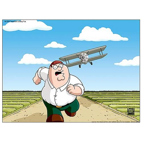 Family Guy North by Northwest Giclee