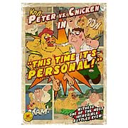Family Guy Peter vs. Chicken II Large Giclee Print