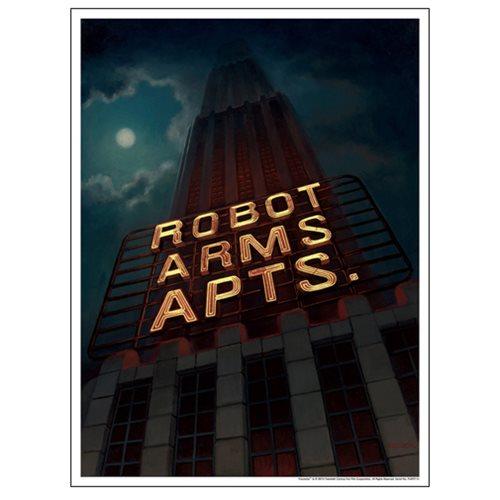 Futurama Robot Arms Apts. by Amanda Cook Lithograph