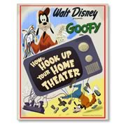 Disney How To Hook Up Your Home Theater Giclee Print