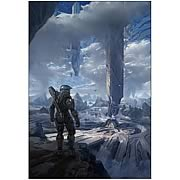 Halo 4 Master Chief Requiem Canvas Giclee Artwork Print
