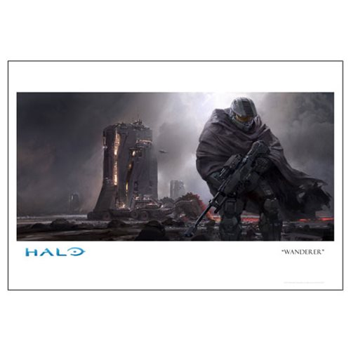 Halo 5 Wanderer Paper Giclee Art Print