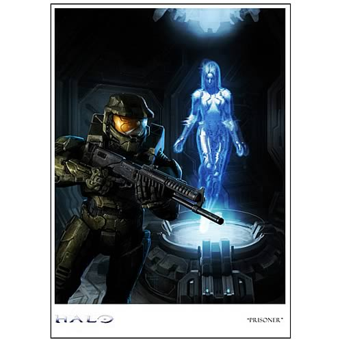 Halo Prisoner Limited Edition Paper Giclee Print
