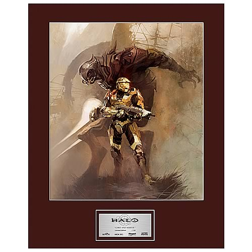 Halo Chief and Arbiter Limited Edition Art Print