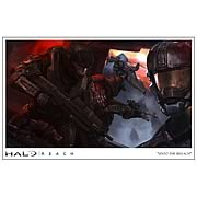 Halo Reach Unto the Breach Paper Giclee Print