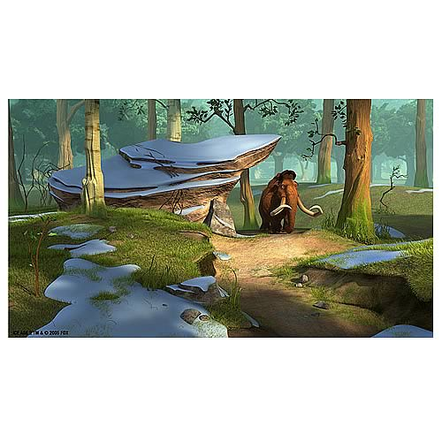 Ice Age 2 The Meltdown Forest Moment Framed Giclee Print