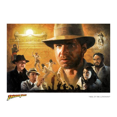 Indiana Jones Ark of the Covenant Paper Print - SDCC 2017 Ex