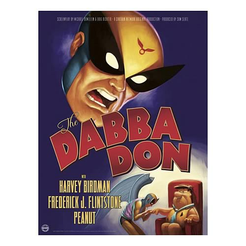 [adult swim] Harvey Birdman Dabba Don Print