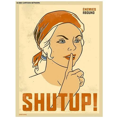 Sealab 2021 Debbie Shut Up Giclee