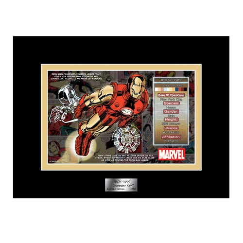 Iron Man Marvel Character Key