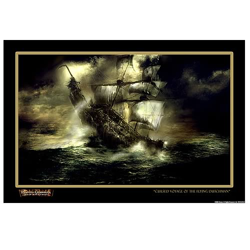 Pirates 2 Cursed Voyage LE Unframed Paper Giclee Print