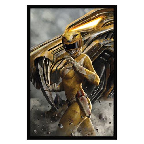 Power Rangers Yellow Ranger Lithograph Art Print
