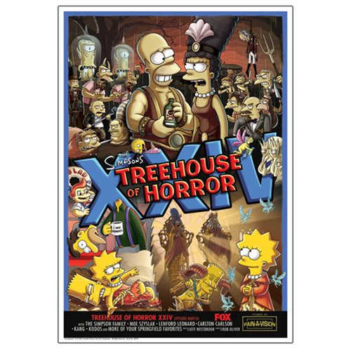 The Simpsons Treehouse of Horror XXIV Paper Giclee Print