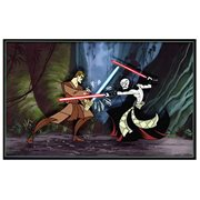 SW Clone Wars: Anakin vs. Asajj Hand Painted Cel