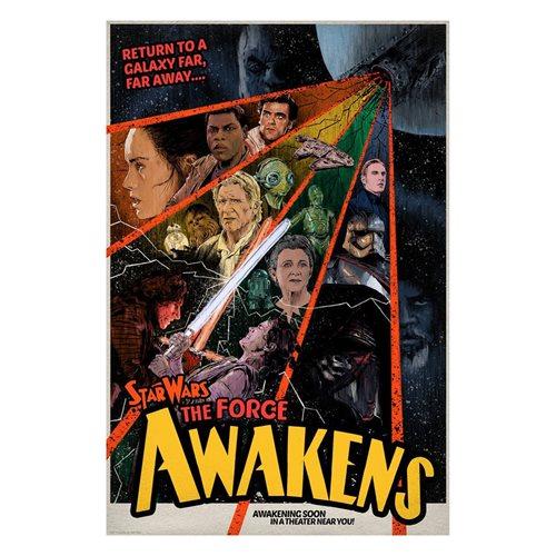 Star Wars Awakening Soon by J.J. Lendl Lithograph Art Print
