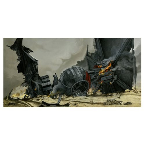 Star Wars: TFA I've Always Wanted to Fly Canvas Giclee