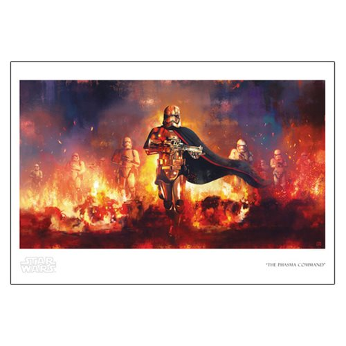 Star Wars The Phasma Command by Akirant Paper Giclee Print