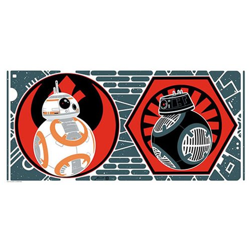 Star Wars BB-8 and BB-9E by Brian Miller Lithograph Print