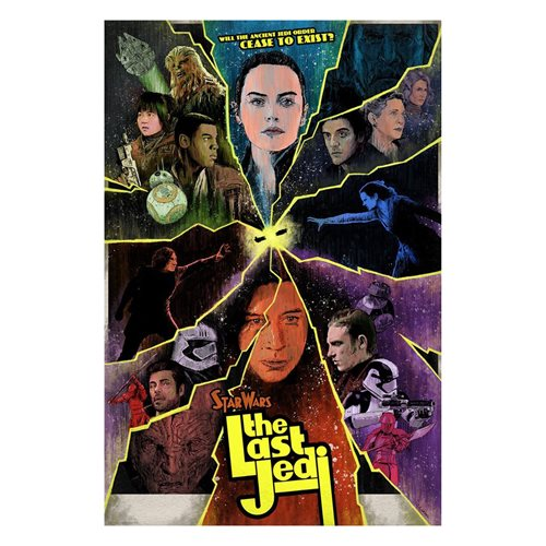 Star Wars Cease to Exist by J.J. Lendl Lithograph Art Print