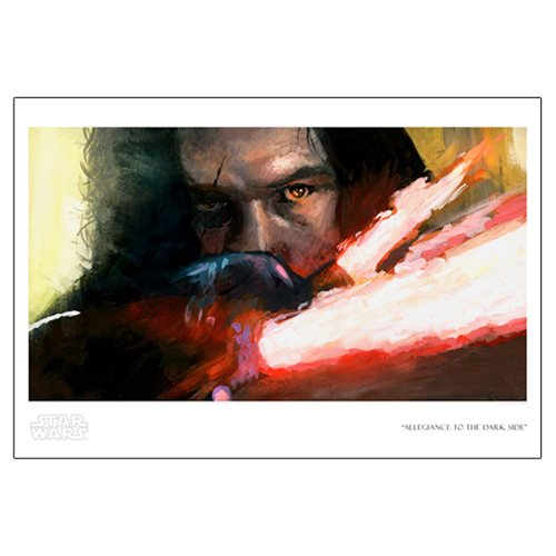 Star Wars Allegiance to the Dark Side Paper Giclee Print