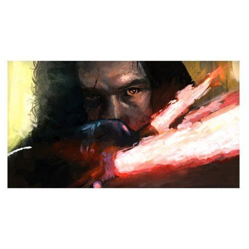 Star Wars Allegiance to the Dark Side by Bryan Snuffer Canvas Giclee Art Print