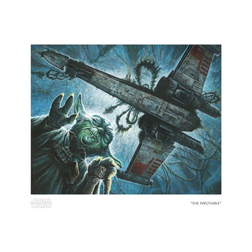Star Wars The Impossible by Craig Skaggs Paper Giclee Print