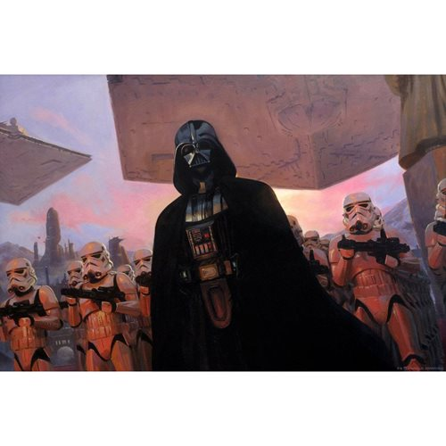 Star Wars The Diplomat by Jake Murray Lithograph Art Print