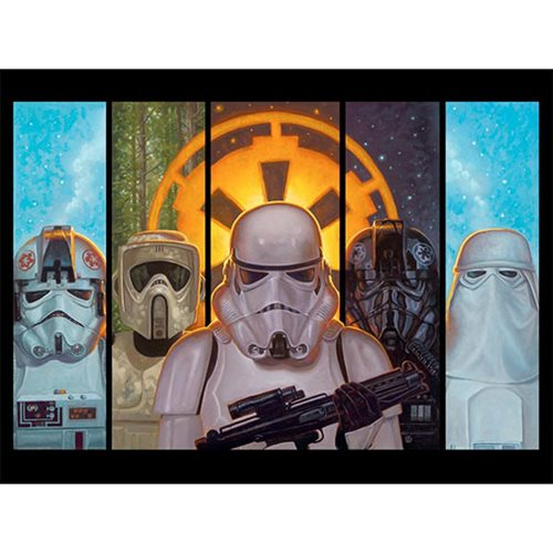 Star Wars Disciples of the Empire Jaime Carrillo Lithograph