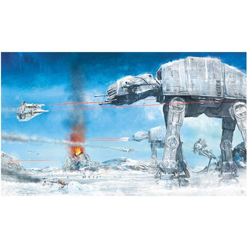 Star Wars Assault on Echo Base by Akirant Canvas Giclee Art