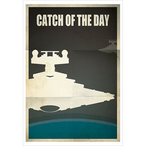 Star Wars Catch of the Day by Jason Christman Paper Giclee