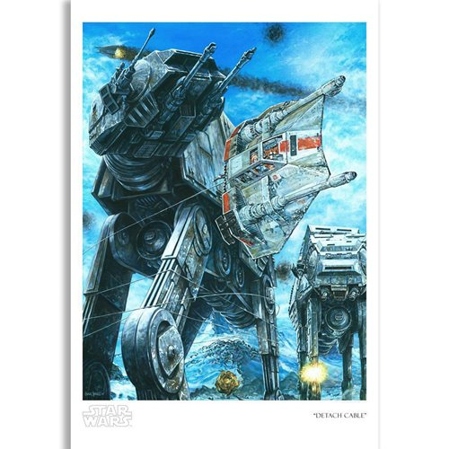 Star Wars Detach Cable by Craig Skaggs Paper Giclee Print