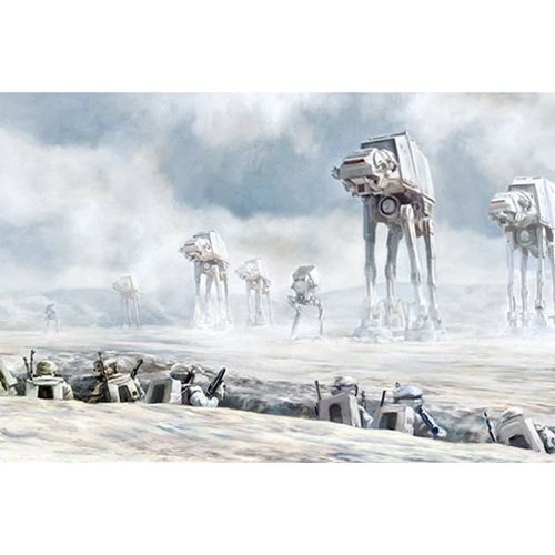 Star Wars Hold Fast by Cliff Cramp Canvas Giclee Art Print