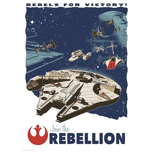 Star Wars Rebels for Victory by Brian Miller Art Print