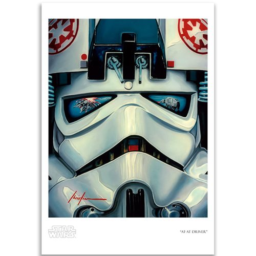 Star Wars AT-AT Driver by Christian Waggoner Paper Giclee